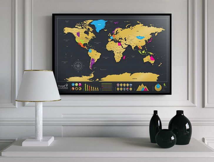 Scratch-Off World Travel Maps