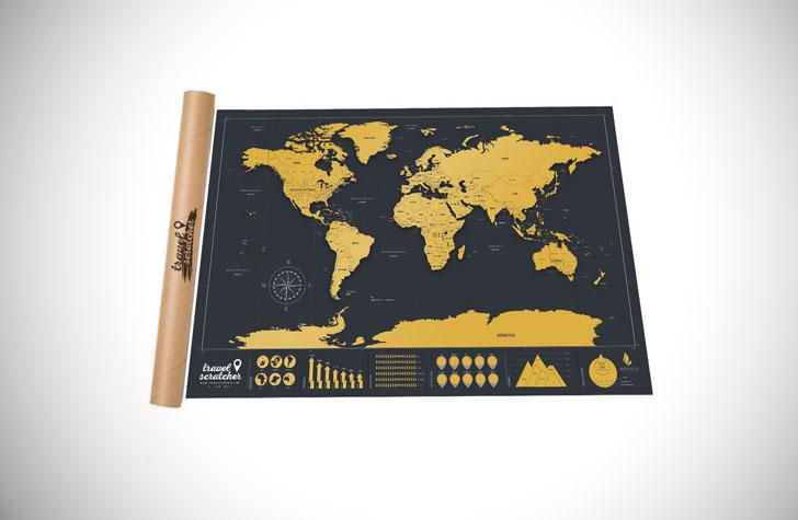 Scratch-Off World Travel Maps