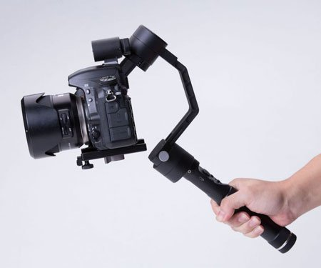 Self-Stabilizing Robotic Camera Arm