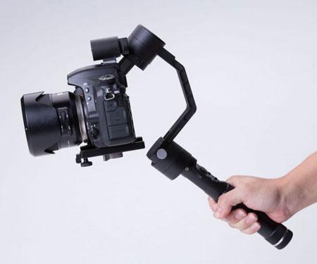 Self-Stabilizing Robotic Camera Arm