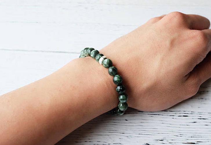 Seraphinite Spiritual Healing Bracelet