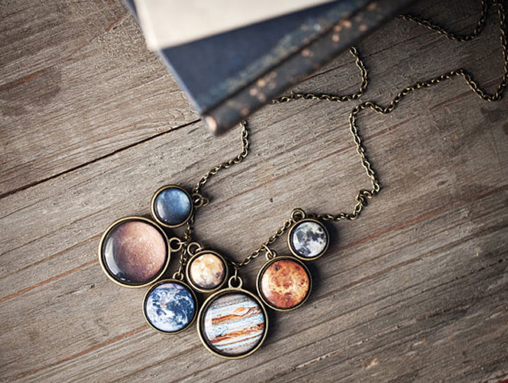Solar System Statement Necklace - Awesome Stuff 365