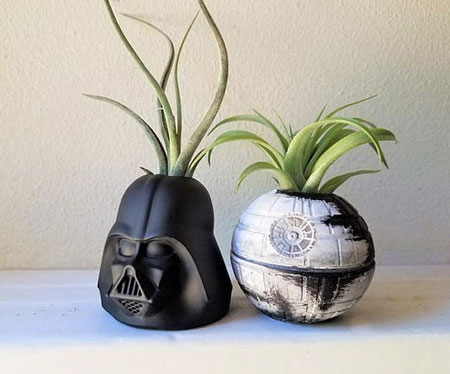 Star Wars Inspired Planter Gift Set