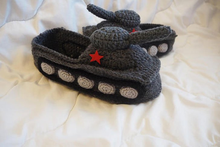 Tank Slippers for Him
