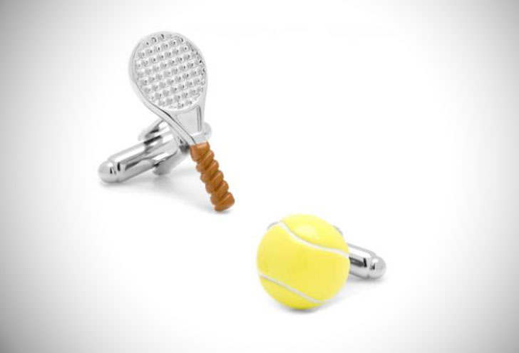 Tennis Cufflinks - cool cufflinks