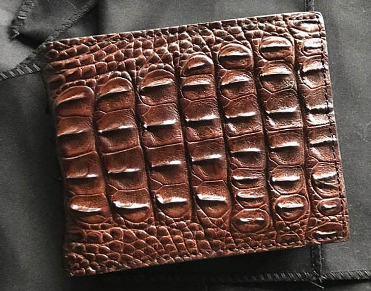 The Crocodile Wallet - Cool Wallets