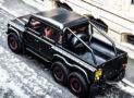Land Rover Defender Flying Huntsman 6×6 Pickup Truck