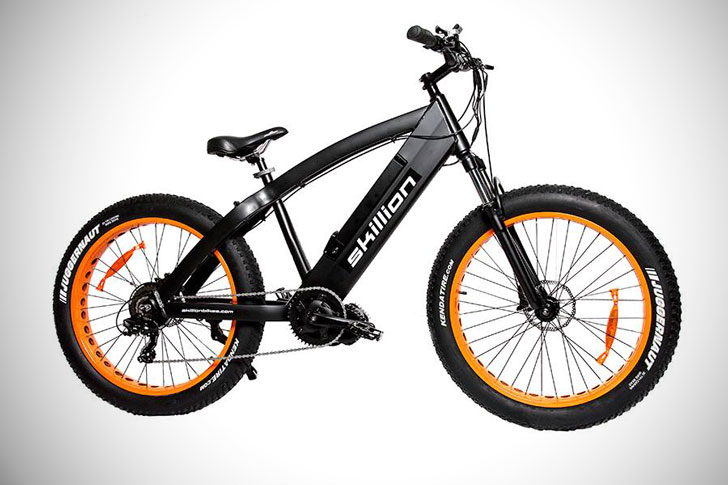 The Skillion Max Classic E-Bike - coolest electric bikes