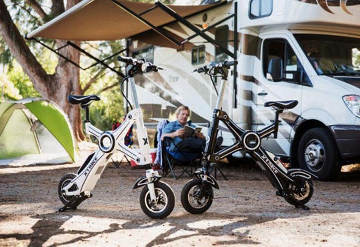 The X1 Explorer Foldable E-Bike