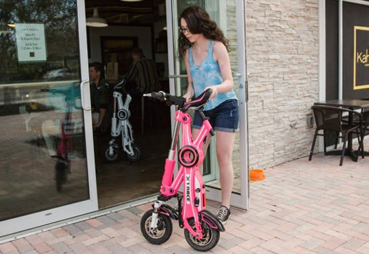 The X1 Explorer Foldable E-Bike