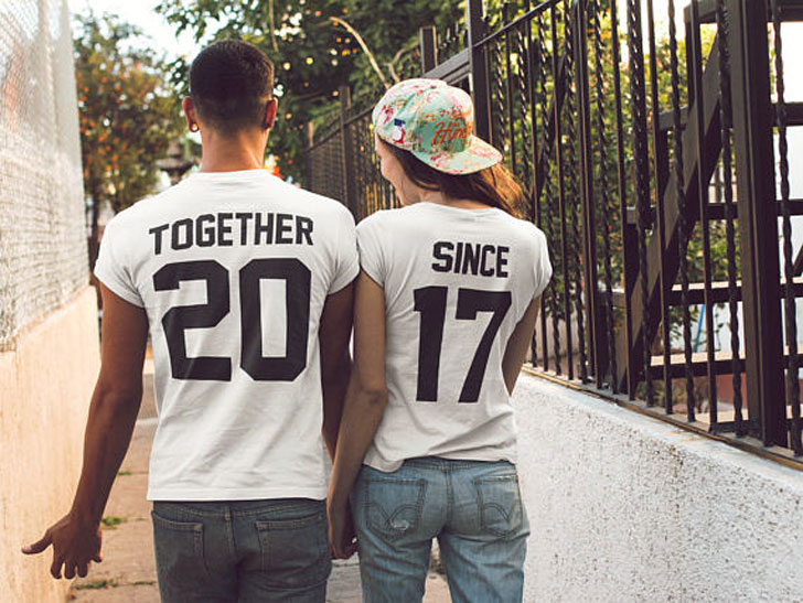 Together Since Couples Shirts