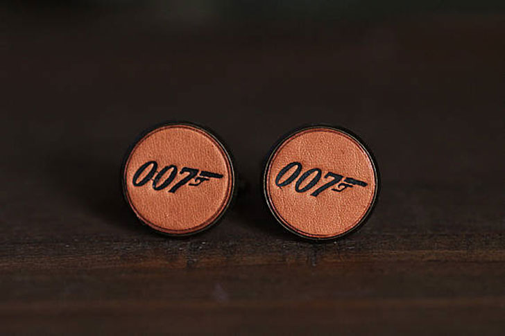 Vintage Style 007 James Bond Cufflinks - cool cufflinks