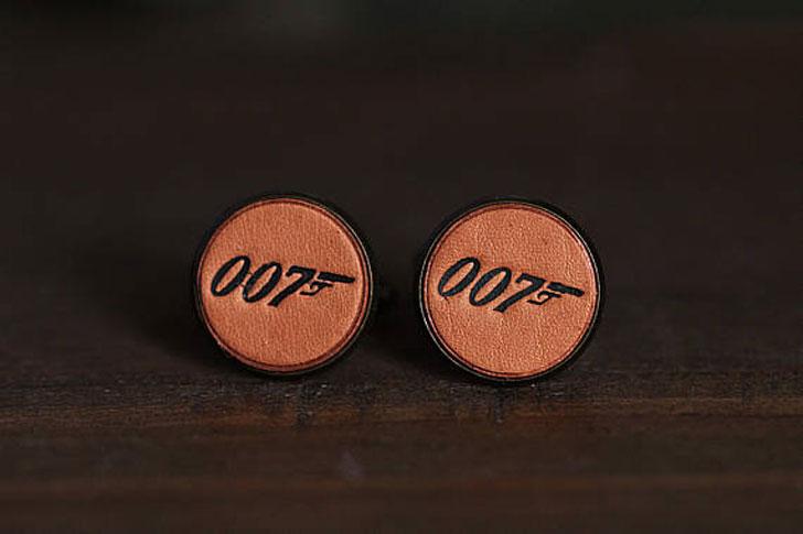 Vintage Style 007 James Bond Cufflinks - cool cufflinks