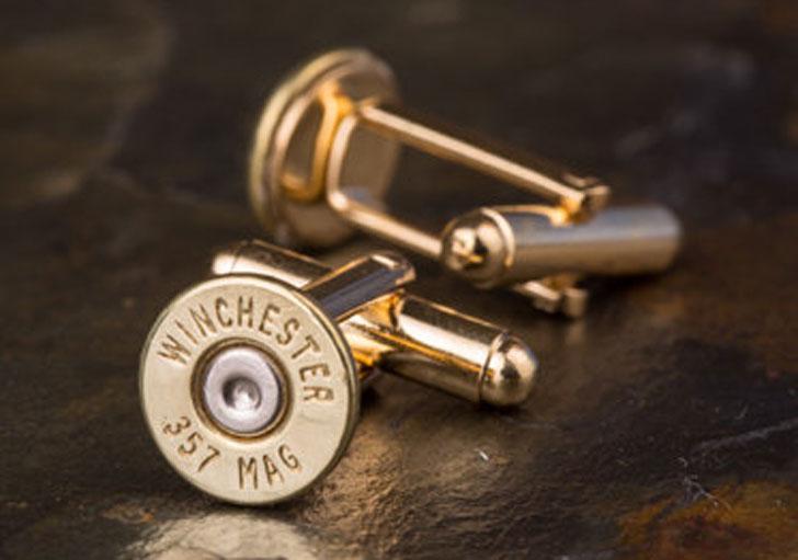 Winchester 357 Mag Cufflinks