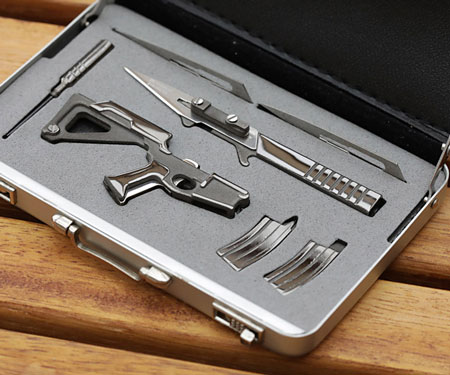 World's Smallest Folding Scalpel Blade Multi-Tool
