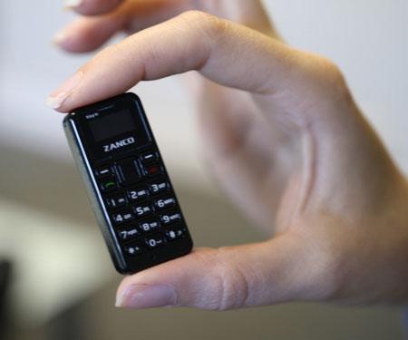 World's Smallest Phone