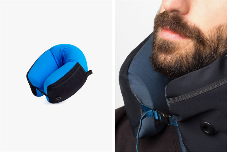 3-in-1 Memory Foam Travel Pillow