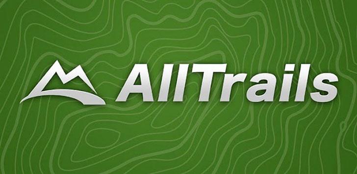 AllTrails App - camping apps