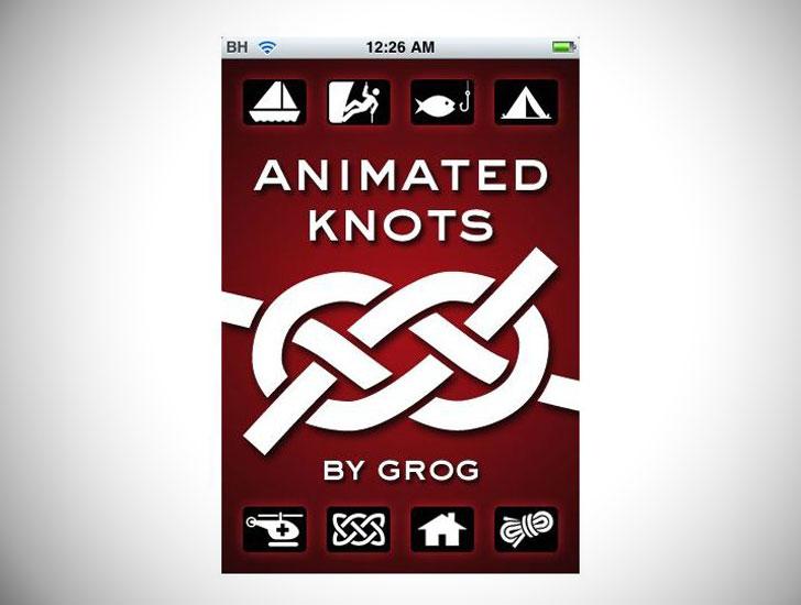 Animated Knots App