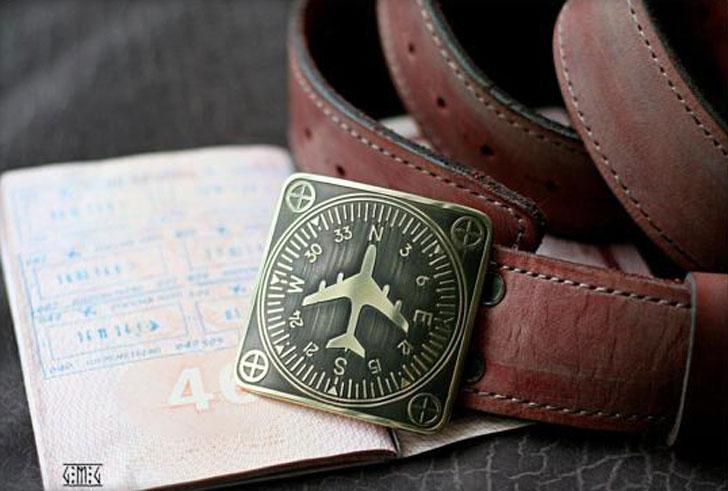 Aviator Leather Belt