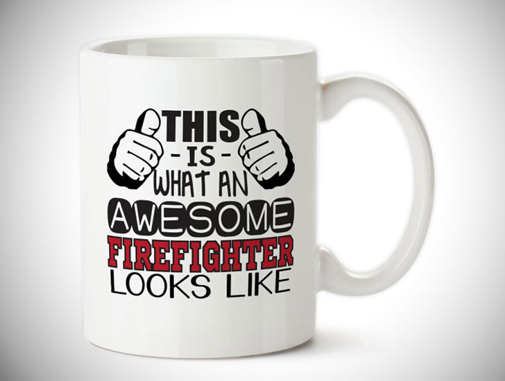 Awesome Firefighters Coffee Mug