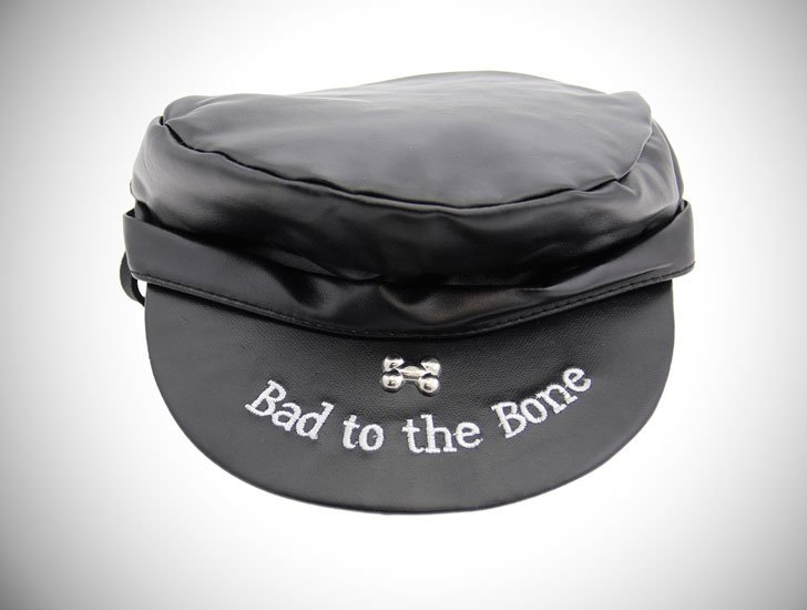 Bad to the Bone Biker Dog Hat