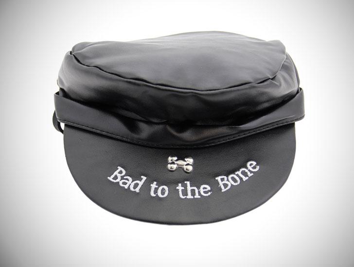 Bad to the Bone Biker Dog Hat