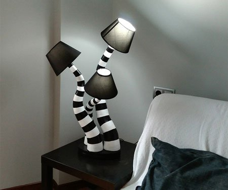 Beetlejuice Lamps