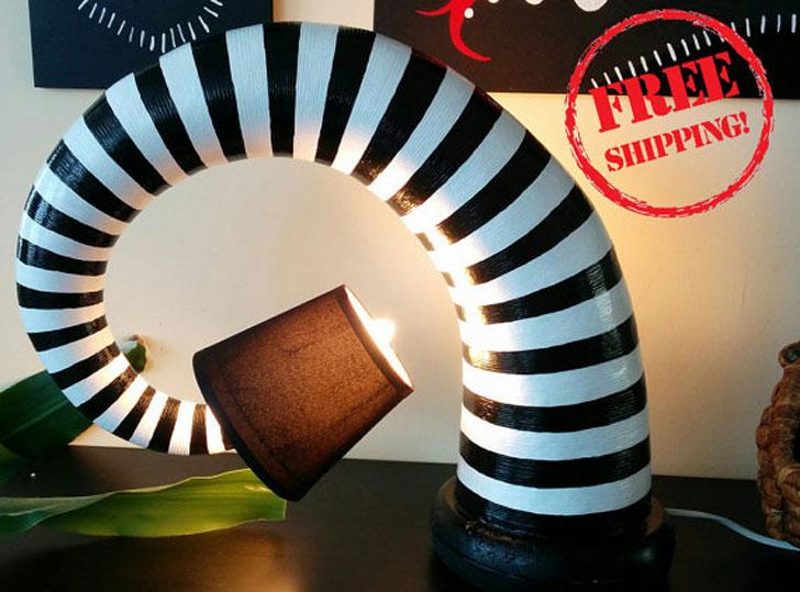 Beetlejuice Lamps