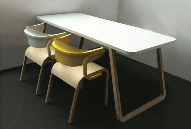 Birchwood Dining Table By Specimen