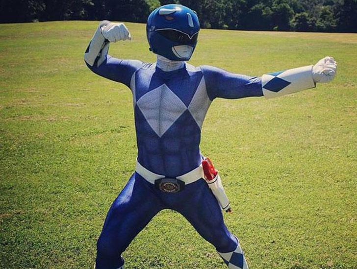 Blue Ranger Bodysuit Cosplay Costume