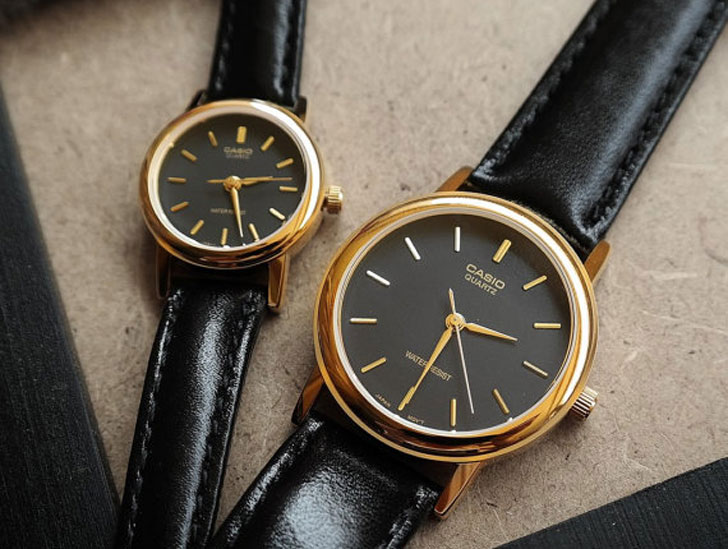 Casio Stark in Black His & Hers Couples Watches