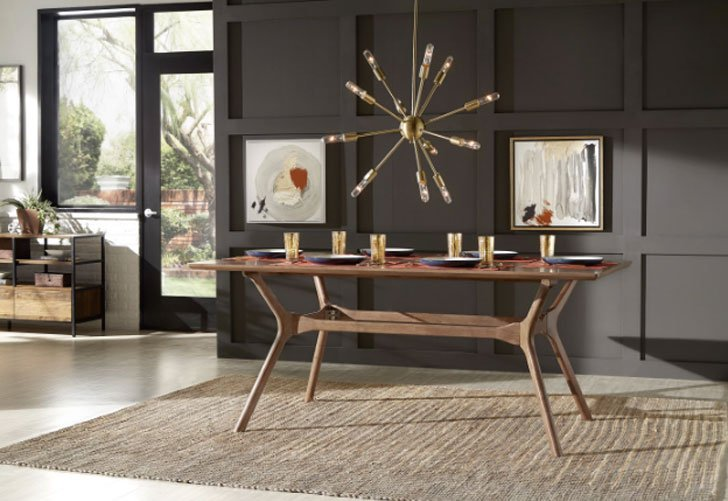 Cassius Trestle Dining Table -Unique dining tables