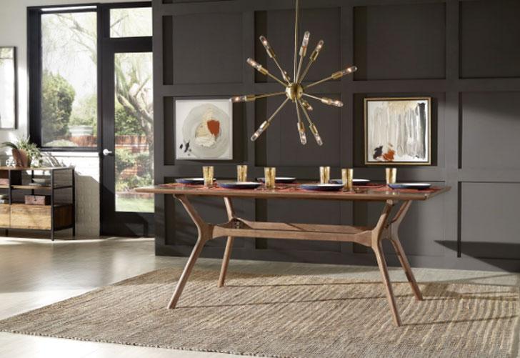 Cassius Trestle Dining Table -Unique dining tables