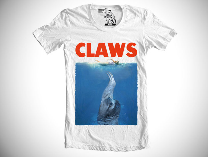 Claws Sloth T-shirt