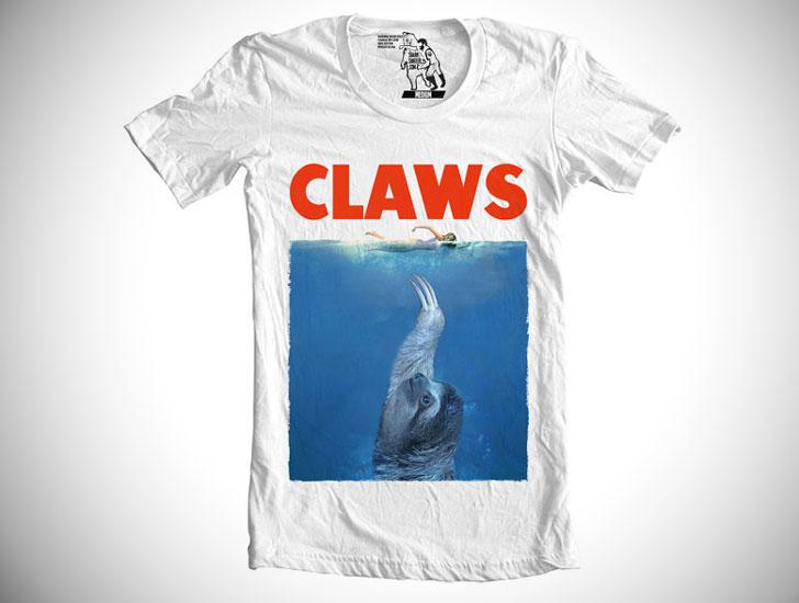 Claws Sloth T-shirt