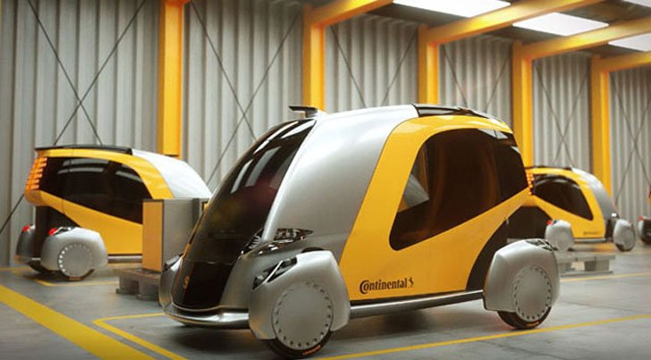 Continental BEE Driverless Car
