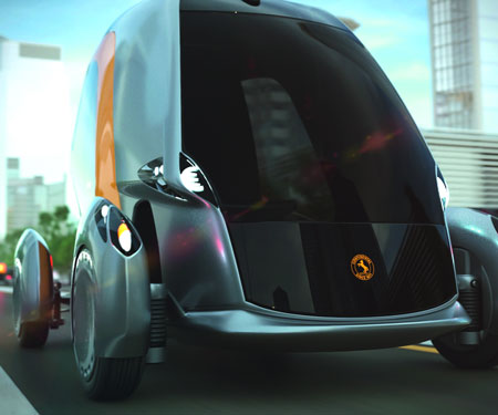 Continental BEE Driverless Car
