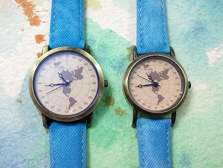 Couples Matching Wanderlust Watch Set