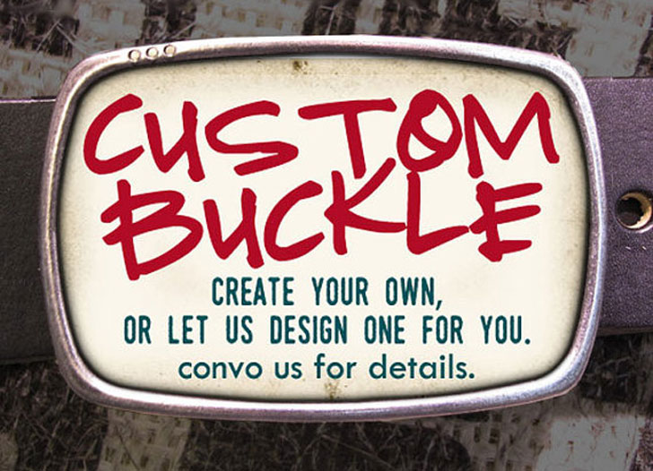 Custom Designed Belts