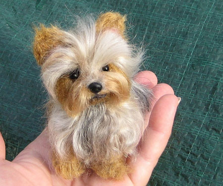 Custom Made Miniature Pet Portraits