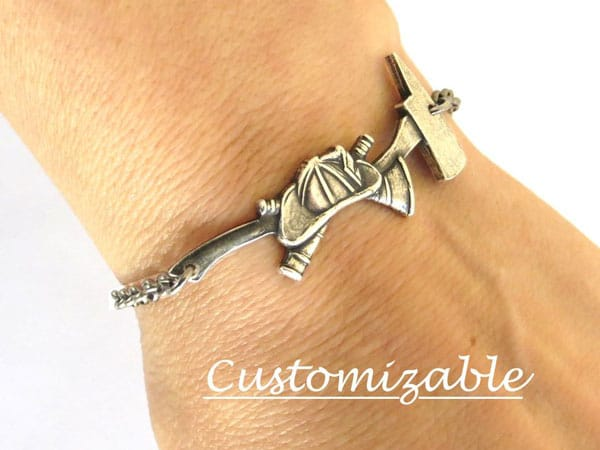 Customizable Firefighter Bracelet