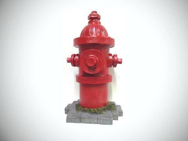 Dog's Second Best Friend Fire Hydrant Garden Art