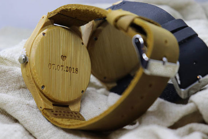 Dream Seekers Engraved His & Her Wooden Watches