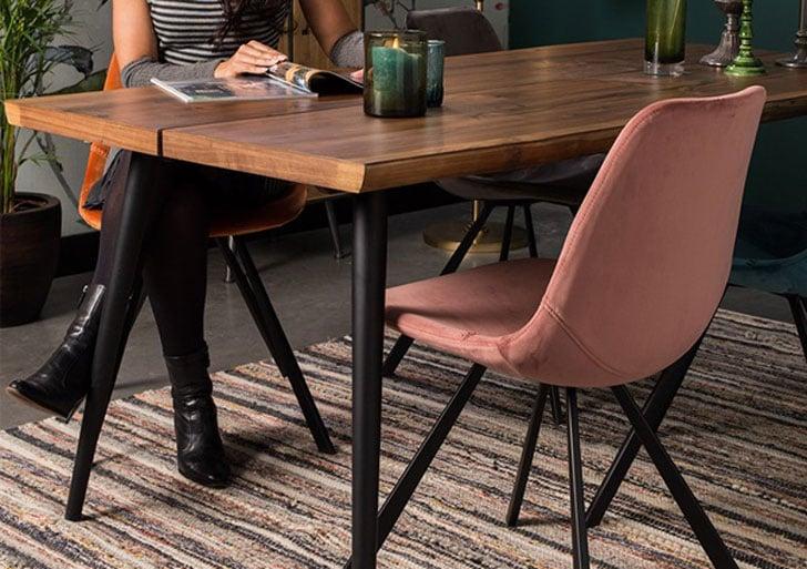 Dutchbone Alagon Wooden Dining Table