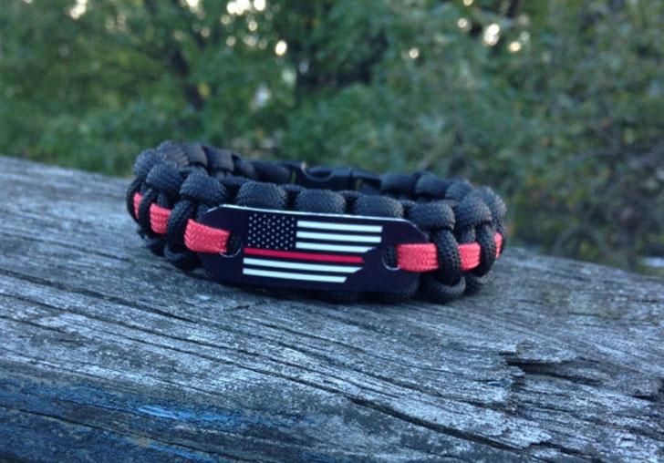 Firefighter Paracord Bracelet