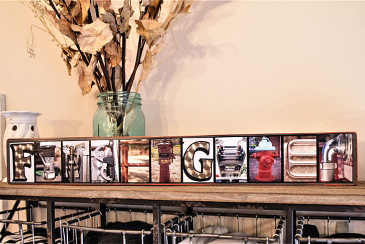 Firefighters Home Decor Family Sign