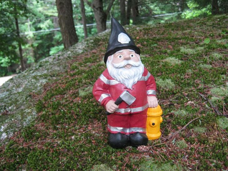 Fireman Gnome
