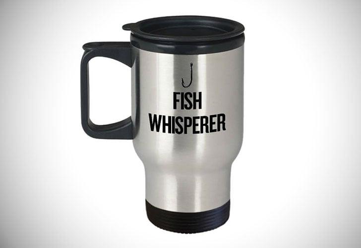 Fish Whisperer Fishing Travel Mug