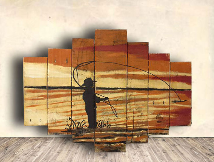 Fly Fishing Wall Art